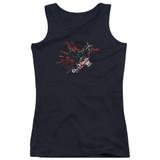 Batman Arkham Knight AK Tech Junior Women's Tank Top T-Shirt
