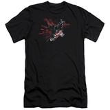 Batman Arkham Knight AK Tech Premium Canvas Black Adult Slim Fit T-Shirt