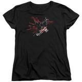 Batman Arkham Knight AK Tech Black Women's T-Shirt