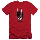 Batman Arkham Knight AK Head Red Adult 30/1 T-Shirt