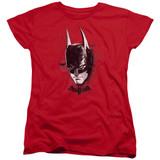 Batman Arkham Knight AK Head Red Women's T-Shirt