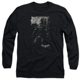 Batman Arkham Knight Bat Brood Black Adult Long Sleeve T-Shirt