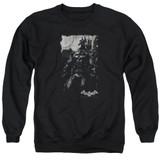 Batman Arkham Knight Bat Brood Black Adult Crewneck Sweatshirt