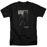 Batman Arkham Knight Bat Brood Black Adult 18/1 T-Shirt