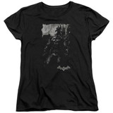Batman Arkham Knight Bat Brood Black Women's T-Shirt