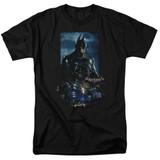 Batman Arkham Knight Batmobile Black Adult 18/1 T-Shirt