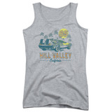 Back To The Future 85 Junior Women's Tank Top Athletic Heather