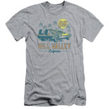 Back To The Future 85 Adult 30/1 T-Shirt Athletic Heather