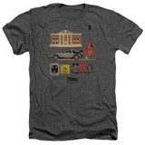 Back To The Future Items Adult Heather Charcoal