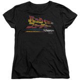 Back To The Future Japanese Delorean Women's T-Shirt