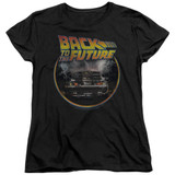 Back To The Future Back Women's T-Shirt Black