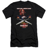 Child's Play 2 Chucky's Back Adult 30/1 T-Shirt Black