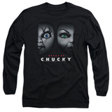 Bride Of Chucky Happy Couple Adult Long Sleeve T-Shirt Black