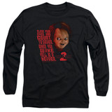 Child's Play 2 In Heaven Adult Long Sleeve T-Shirt Black