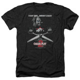 Child's Play 2 Jack Poster Adult Heather T-Shirt Black