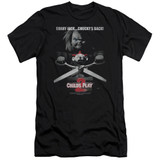 Child's Play 2 Jack Poster Adult 30/1 T-Shirt Black