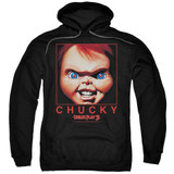 Child's Play 3 Chucky Squared Adult Pullover Hoodie Sweatshirt Black
