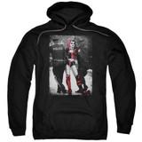 Batman Arrest Adult Pullover Hoodie Sweatshirt Black