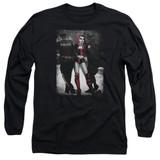 Batman Arrest Adult Long Sleeve T-Shirt Black