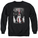 Batman Arrest Adult Crewneck Sweatshirt Black