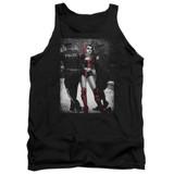 Batman Arrest Adult Tank Top T-Shirt Black
