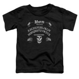 Misfits Ouija Board S/S Toddler T-Shirt Black