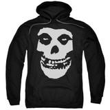 Misfits Fiend Skull Adult Pullover Hoodie Sweatshirt Black