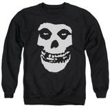 Misfits Fiend Skull Adult Crewneck Sweatshirt Black