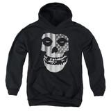 Misfits Fiend Flag Youth Pullover Hoodie Sweatshirt Black