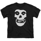 Misfits Fiend Skull S/S Youth 18/1 Black T-Shirt