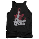 David Bowie Diamond David Adult Tank Top
