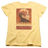 David Bowie Stage Tour Berlin 78 S/S Women's T-Shirt Banana