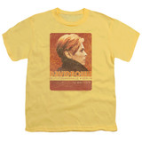 David Bowie Stage Tour Berlin 78 S/S Youth 18/1 T-Shirt Banana