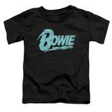 David Bowie Logo S/S Toddler T-Shirt Black