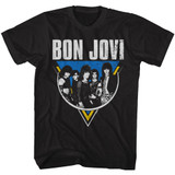 Bon Jovi Jon Bon Black Adult T-Shirt