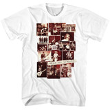 Cheap Trick Photo Collage White Adult T-Shirt