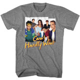 Can't Hardly Wait Group Photos Graphite Heather Adult T-Shirt