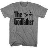 Godfather Don Corleone Graphite Heather Adult T-Shirt
