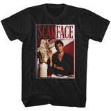 Scarface Scarface Black Adult T-Shirt