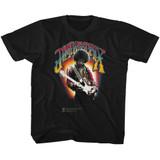Jimi Hendrix Jimi Hendrix Black Toddler T-Shirt
