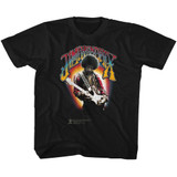 Jimi Hendrix Jimi Hendrix Black Youth T-Shirt