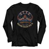 Styx Tour '81 Black Adult Long Sleeve T-Shirt