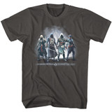 Assassin's Creed Assassin's Group Smoke Adult T-Shirt