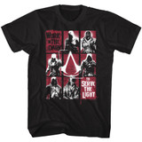 Assassin's Creed Work In The Dark Black Adult T-Shirt