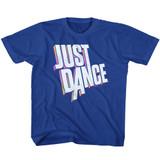 Just Dance Dimensional Logo Royal Toddler T-Shirt