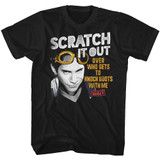 Can't Hardly Wait Scratch Out Black Adult T-Shirt