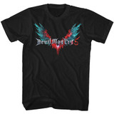 Devil May Cry Logo Tees Black Adult T-Shirt