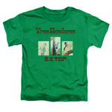 ZZ Top Tres Hombres S/S Toddler T-Shirt Kelly Green