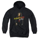 AC/DC Powerage Youth Pullover Hoodie Sweatshirt Black