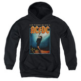 AC/DC Let There Be Rock Youth Pullover Hoodie Sweatshirt Black